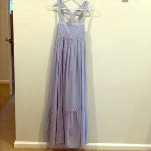 HM Clip Dot Maxi Dress